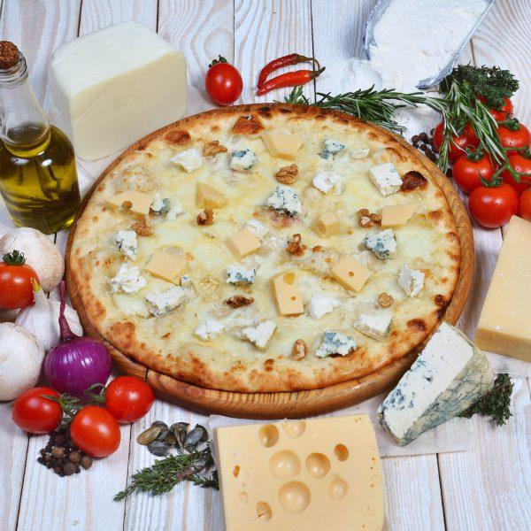 піца 5 сирів